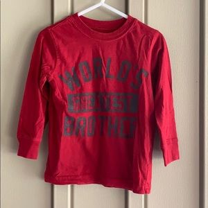 Carter's World's Greatest Brother Long Sleeve